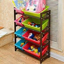 ZHIWUJIAZXM GRJH® Kind Spielzeug Lagerung Rack