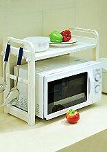 ZHIWUJIAZXM GRJH® Mikrowelle Ofen Regal Küche