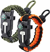Zhiye Survival Paracord Armband Feueranzünder