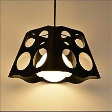 ZHIYUAN Kreative Retro studieren Schlafzimmer Lampe/Persönlichkeit industrielle Wind einzelne schmiedeeiserne Leuchter , 1