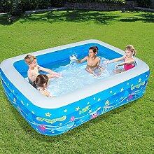 ZHKGANG Aufblasbares Schwimmbecken Für Kinder,