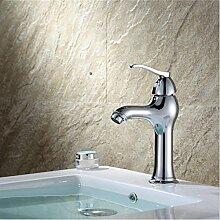ZHLONG Mode High-End-Ware Centerset antike heiß und kalt Einlochmontage Armaturen Persönlichkeit Badezimmer Waschbecken Legierung Kupfer Legierung Mixing Armaturen (keine Förderschlauch)