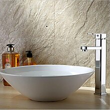 ZHLONG Mode High-End-Ware Centerset antike heiß und kalt Einlochmontage Kupfer Armaturen Persönlichkeit Badarmaturen Waschbecken Edelstahl Mixing