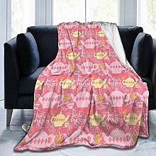 Zhong Shan Teekanne Muster Rosa Decken für Herbst