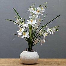 ZHONGLONGZHONG Kreatives Blumengesteck Mit Vase