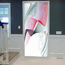 Zhoudd Türtapete Tür Moderne Kunst Kreative