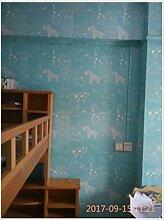 ZHOUKEYU Warme Tapete Schlafzimmer Schlafsaal