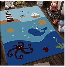 ZHP & Hausteppich Handgemalte Teppich für Kinder