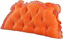 ZHPPRODUCT Kissen Rückenbett Kopf Kissen Bett