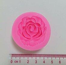 ZHQIC 3D -Blumen -Silikon - Form, die