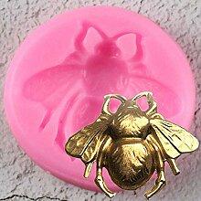 ZHQIC 3D Silikonform Fondant Candy Schokolade Fimo