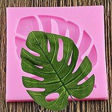 ZHQIC DIY Palmen Blatt Silikonformen Schildkröte
