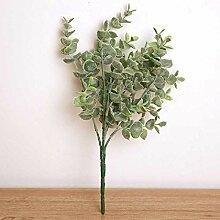 zhtao Eukalyptus Grünpflanze Hochzeitsdekoration