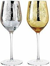 ZHUANGSHI 2 STÜCKE Luxus golden und Silber
