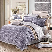 ZHUDJ Baumwolle 4 Stück_Bett Vier Stücke aus Baumwolle Baumwolle 4 Großhandel Drucken, Solfrid, 1.5 und 1.8 Bed Für Allgemeine Zwecke