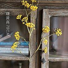 ZHUDJ Emulation Pflanze Blumen Oder Früchte