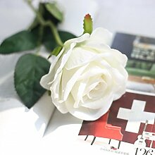 ZHUDJ Emulation Rose Pflanze Blumen Home Decor