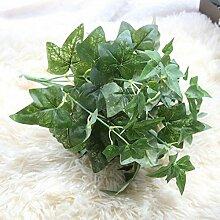ZHUDJ Grüner Baum Einpflanzen 7 Leiter Der Laub Anlage Wand Zubehör Hotel Mit Künstliche Blumen Künstliche Blumen Handwerk Eingerichtet, Grün