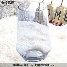 ZHUDJ Home Gebogenes Glas Schalen, Home Dekoration Basteln Kleine