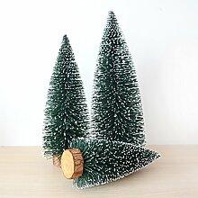 ZHUDJ Mini Weihnachtsbaum mit White Cedar