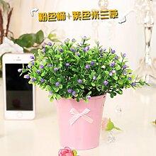 ZHUDJ Silk Blume Künstliche Blumen Künstliche