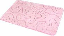 Zhuhaitf Fashion Multi-color Non Slip Memory Foam Bath Rug Shower Mat Carpet 2804