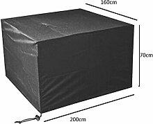 Zhuhaixmy 200*160*70cm Schwarz Tabelle Bank