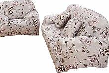 Zhuhaixmy Stretch Elastic Sofa Slipcover, Sofa Garnituren,Möbel-Schutz, Couch Abdeckung, Single-Seat (keine Rückenlehne), Muster #19