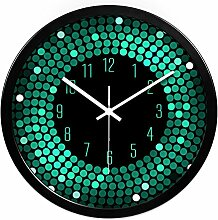 ZHUNSHI KTV Bar Restaurant kreative Uhr Raum Stille Uhren der modernen Mode nach Hause bunte Uhr,12 Zoll,CH197-Black-box