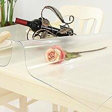 ZHUO&BU Waschbar Tischdecken,PVC Tischdecke