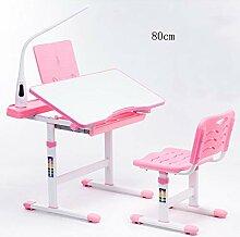 Zhuozi FUFU Tische Kinder Schreibtisch Stuhl Set