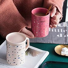 ZHUYU Geschenk-Idee ,Keramik Kaffeetasse