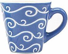 ZHUYU Geschenk-Tasse,Kreative Farbe Keramik