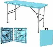 ZHWEI Klapptische 122cm Schwer Ess-Camping-Tisch