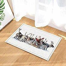 ZHWL6688 Weihnachtsdekor Weihnachtsmann Fahren