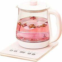 ZHZHUANG Elektrischer Wasserkocher, 1,8L Glas