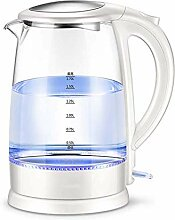 ZHZHUANG Glas Wasserkocher, 1,7 L Eco Wasserkocher