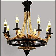 ZHZHUANG Kronleuchter Pendelleuchte Lampe