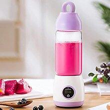 ZHZHUANG Tragbarer persönlicher Mixer, 420 ml