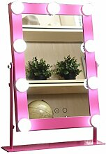 ZI LING SHO- Desktop-Make-up-Spiegel mit