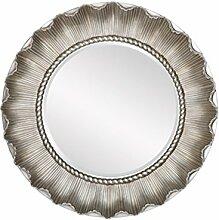 ZI LING SHOP- Europäischen Stil Ist Eine Runde Badspiegel Sonne Kamin Restaurant Bad Hängespiegel Mirror