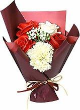 Zicth Künstliche Rosenstrauß Geschenk für Sie
