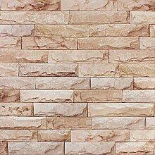 Ziegel Restaurant Ziegel Dreidimensionale Tapete,