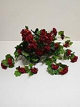 Ziegler Geranie Hängend Seidenblume Kunstpflanze