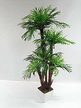 Ziegler Palme Arecapalme Kunst- Seidenpflanze ca.