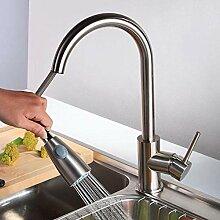 Ziehen Sie Küchenarmatur Waschbecken Sprayer