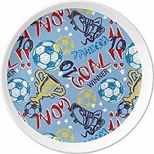 Ziel Soccer Fußball Sport Winner Porzellan
