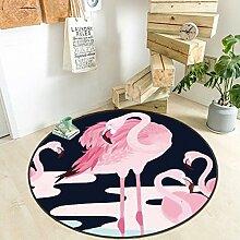Ziemlich Runde Hirsche Tier Teppiche Mode Beliebte