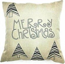 Zierkissenbezüge VENMO Weihnachten Sofa Bett