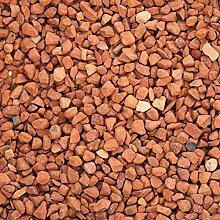Ziersplitt Terrakottasplitt Ziegel-Rot 8-16 mm a